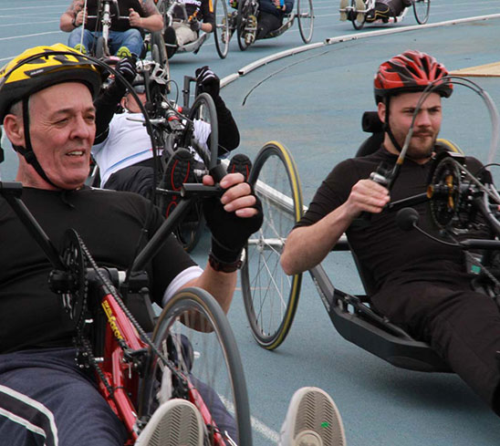 Handcycling Taster Day Stoke Mandeville