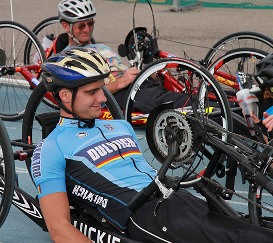 Hand Cycle Racers
